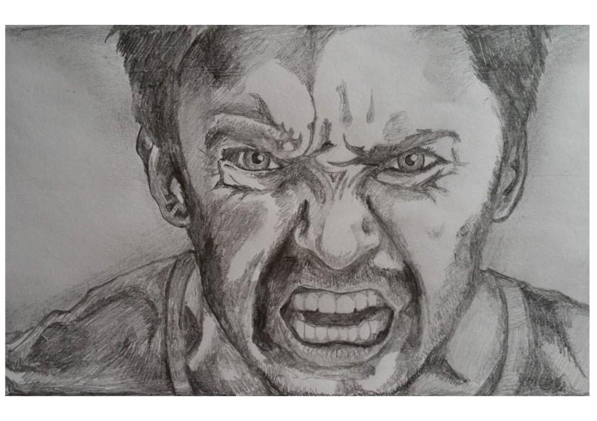 Hugh Jackman Angry