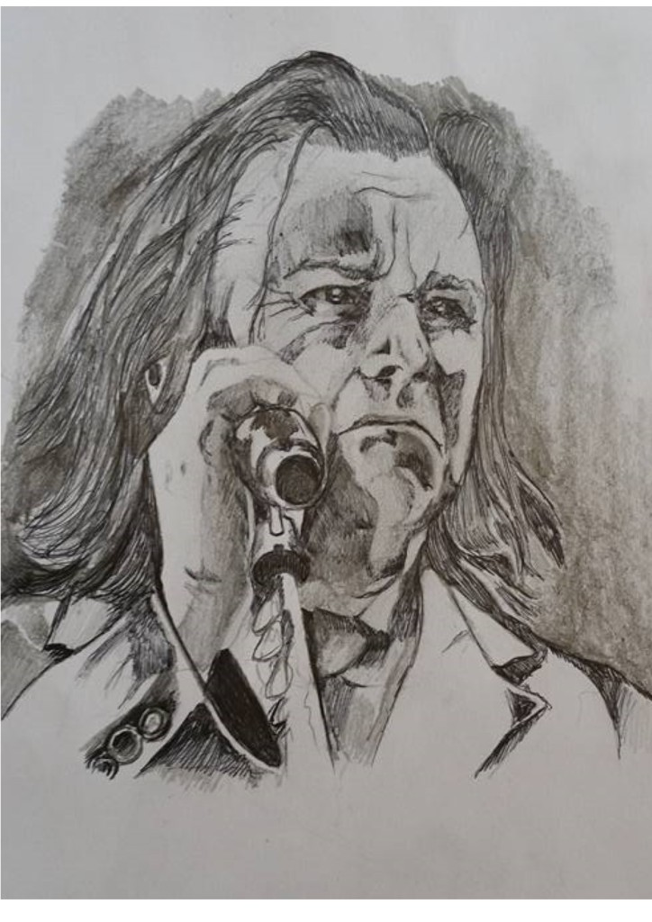 Steve Hogarth Singing Portrait 2