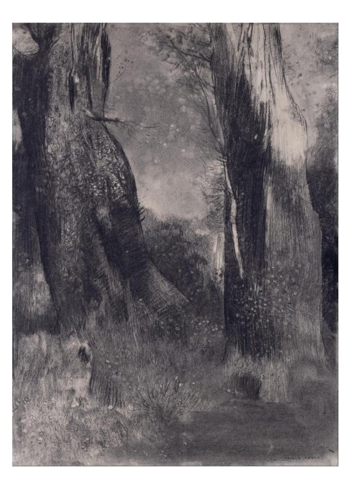 Odilon Redon- The Trees